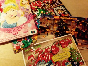 Et udpluk af Lillepigens julekalendere...