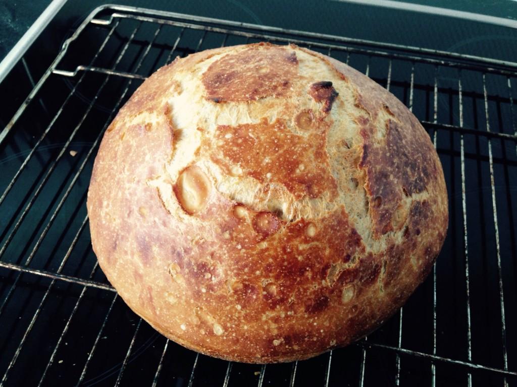 Det færdige brød.