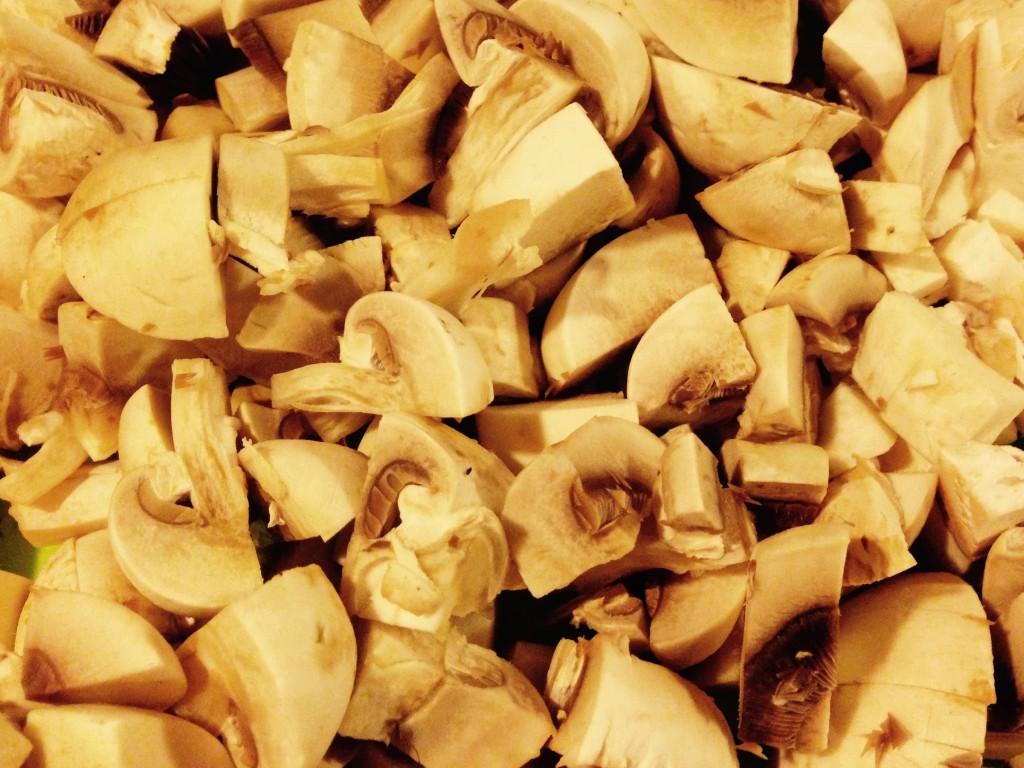 Hak champignon rimelig fint.