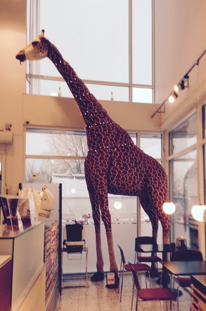 En giraf :)