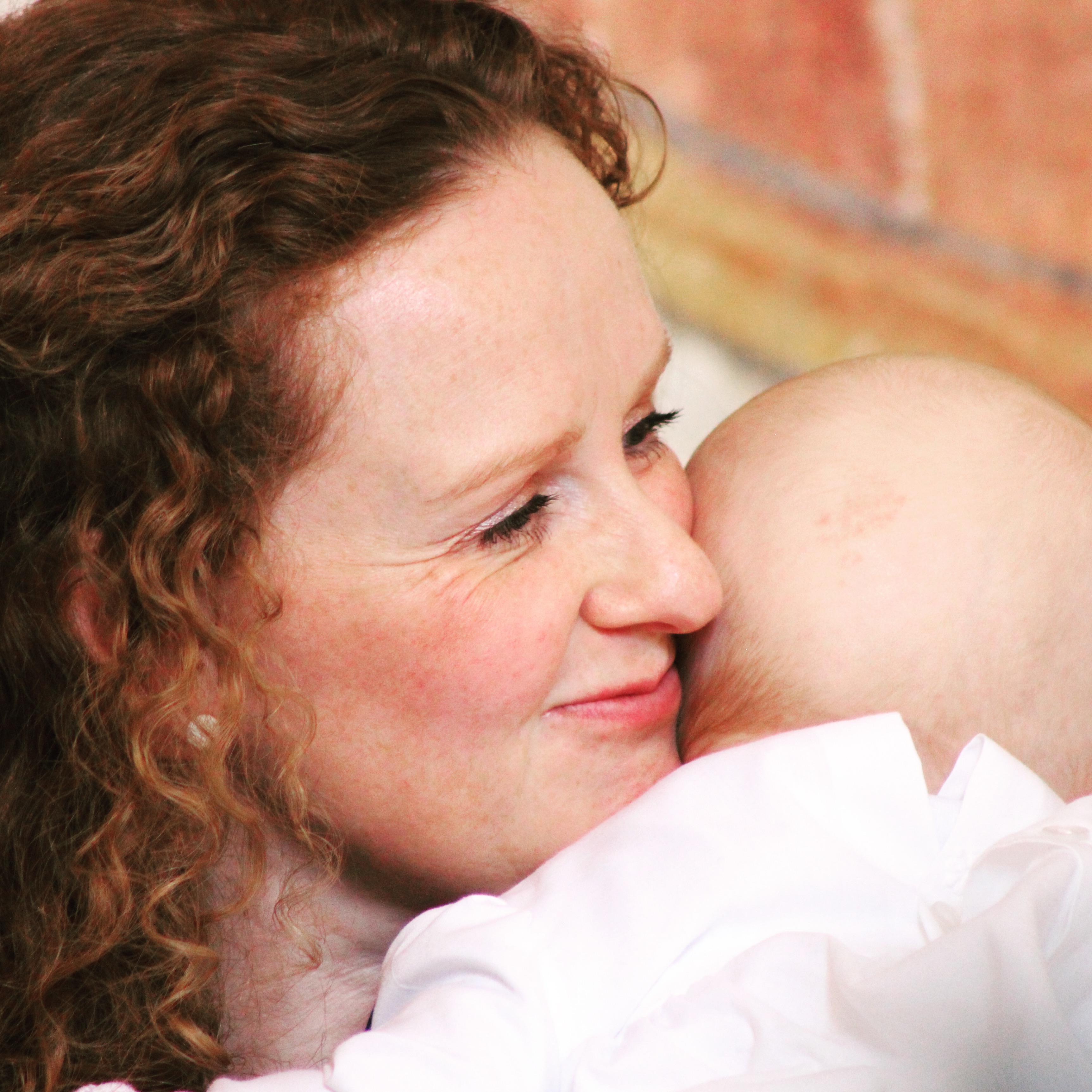 Og vi havde barnedåb :) Det skrev jeg også om på bloggen.