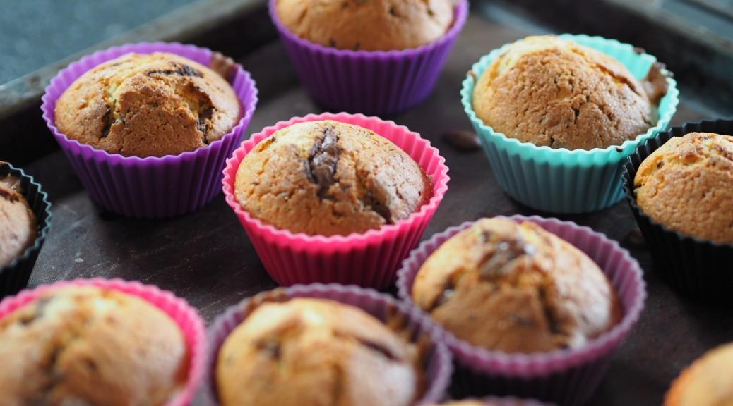 Chokolademuffins med creme fraiche