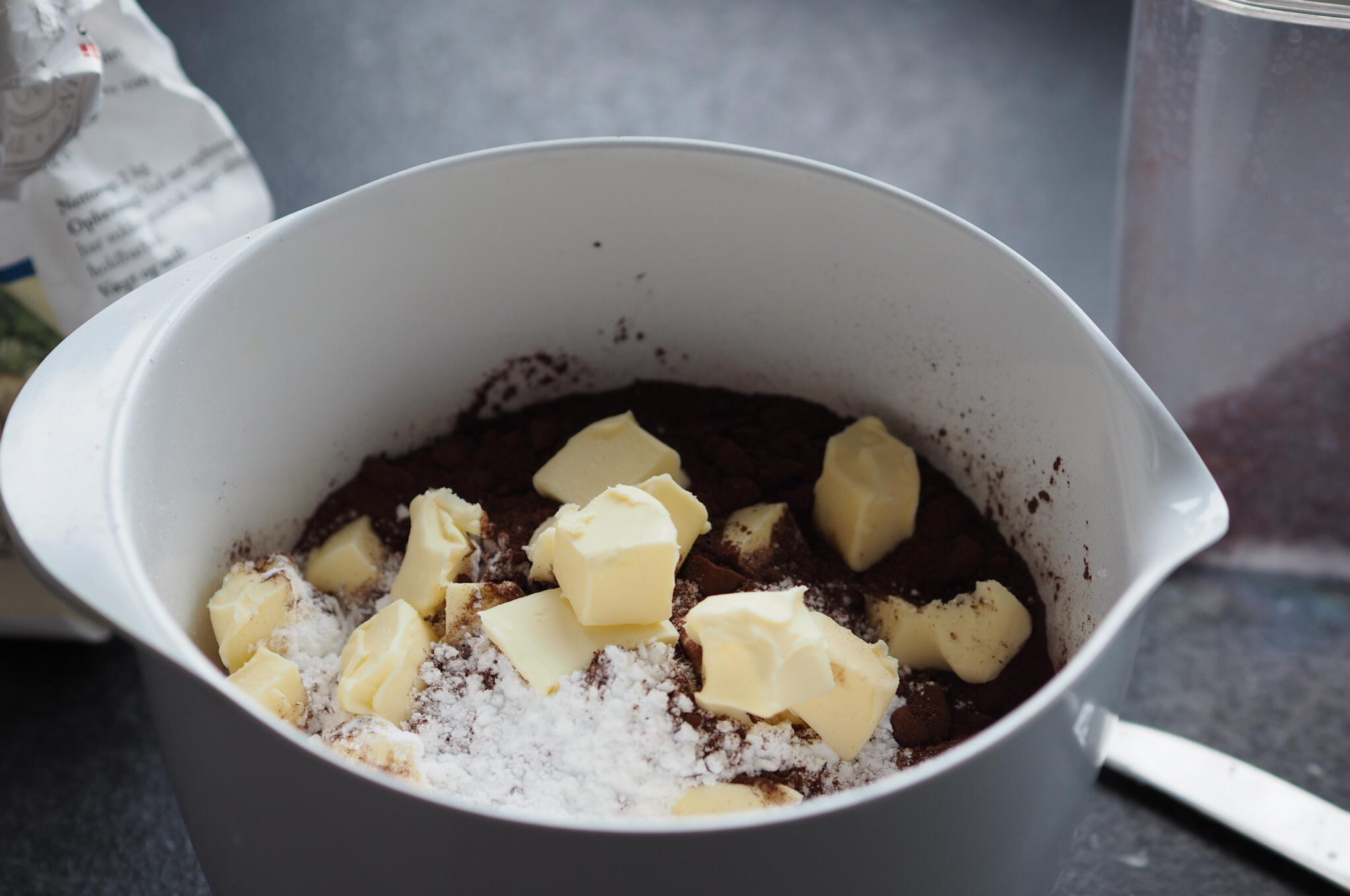 Chokoladebradepandekage
