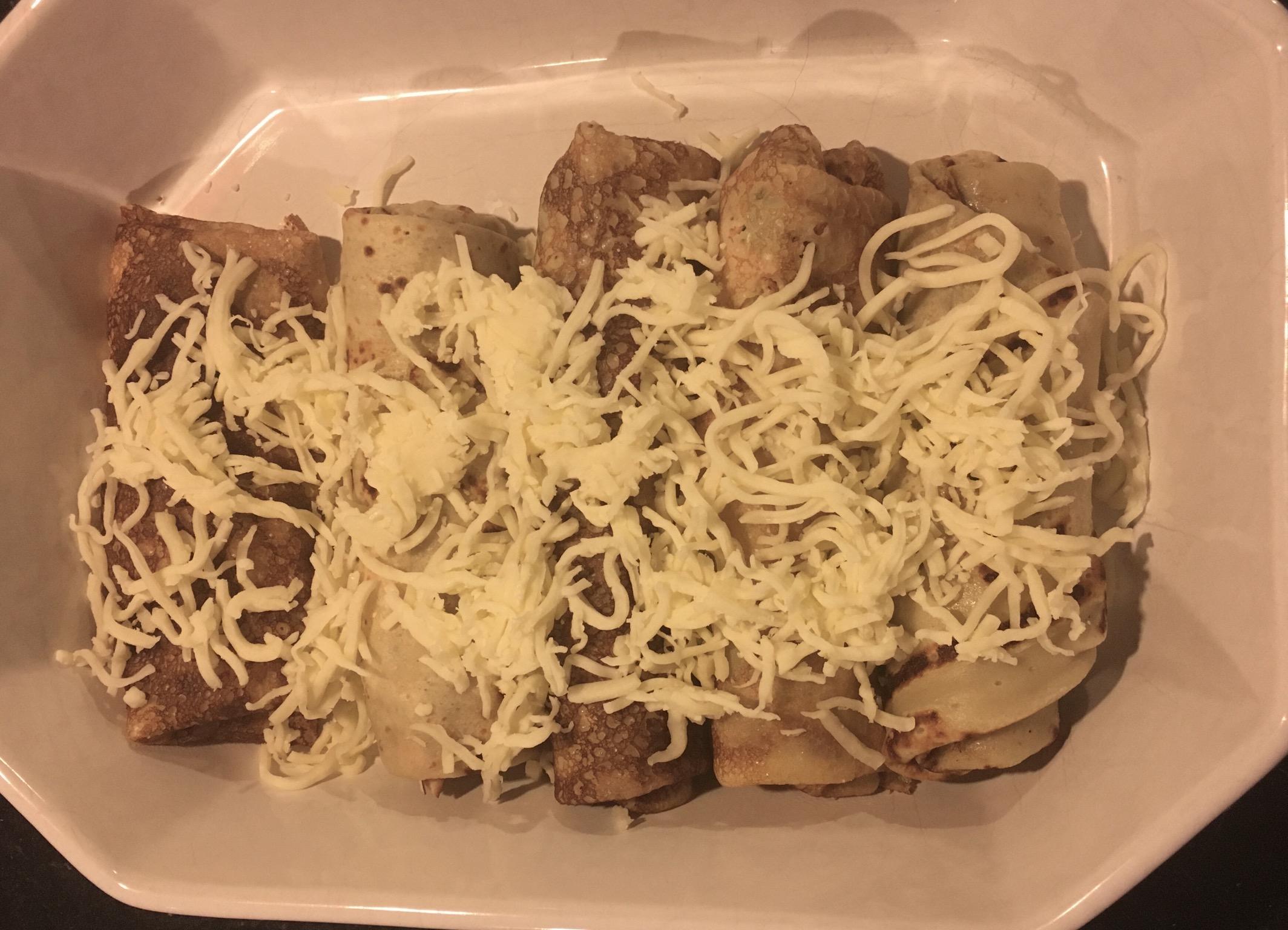 Pandekager med skinke