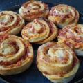 Luftige pizzasnegle